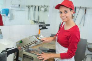 Maschinenbediener Süßwaren